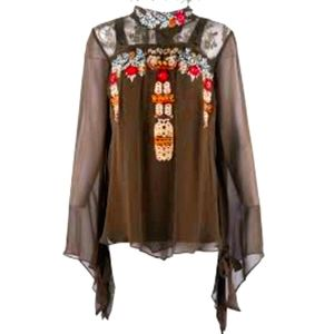NWT ~ VINTAGE COLLECTION Boho Embroidered Tunic